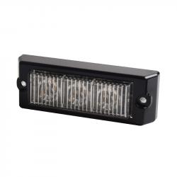 FEU 3 LED ORANGE FLASH 12/24 V