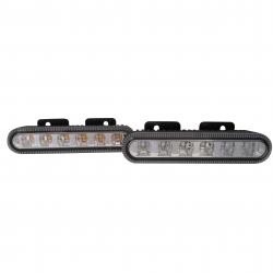 FEU 6 LED ORANGE FLASH 10/30 V