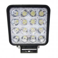 PHARE DE TRAVAIL LED 110x110mm 10/30 V 3000LM