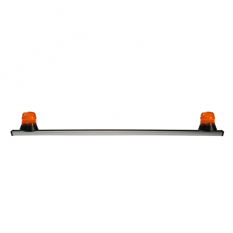 BARRE SANS FIXATIONS + 2 GYRO LED 12 V