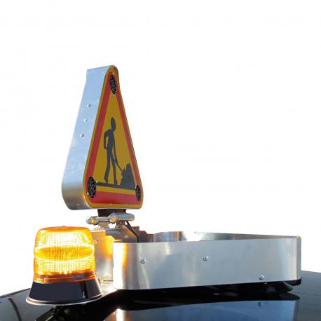 KIT RABATTEMENT ÉLECTRIQUE 24 V POUR TRIANGLE 500mm