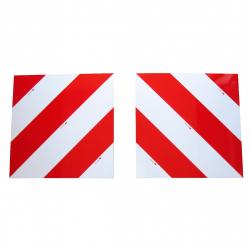 KIT 2 PANNEAUX CARRÉS CONVOI EXCEPTIONNEL (G+D) 423x423x1mm