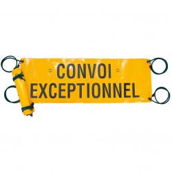 BÂCHE JAUNE CONVOI EXCEPTIONNEL 1200x400mm