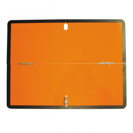 RECTANGLE ORANGE GALVA PLIABLE HORIZONTAL