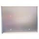 SUPPORT INOX POUR ÉTIQUETTE 250x235x06mm