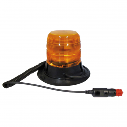 GYRO LED ORANGE 12/24 V MAGNÉTIQUE + VENTOUSE