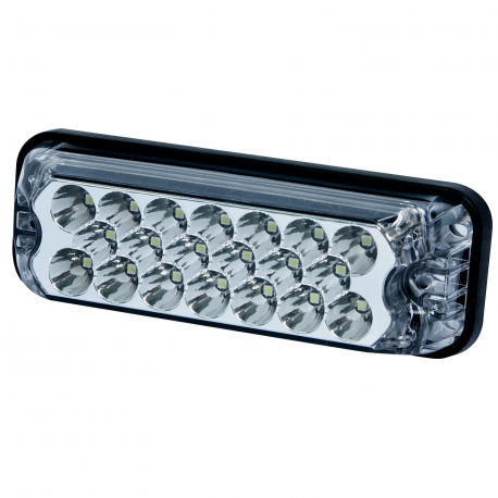 FEU FLASH LED BLANC 12-24V