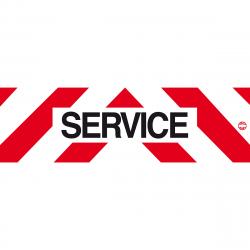 SERVICE ALU 1000X300