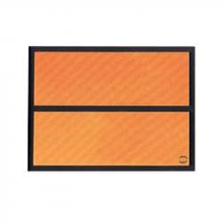 RECTANGLE IDENT GAL 400X300X1