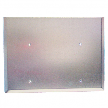 SUP SYMB INOX 300X235X06