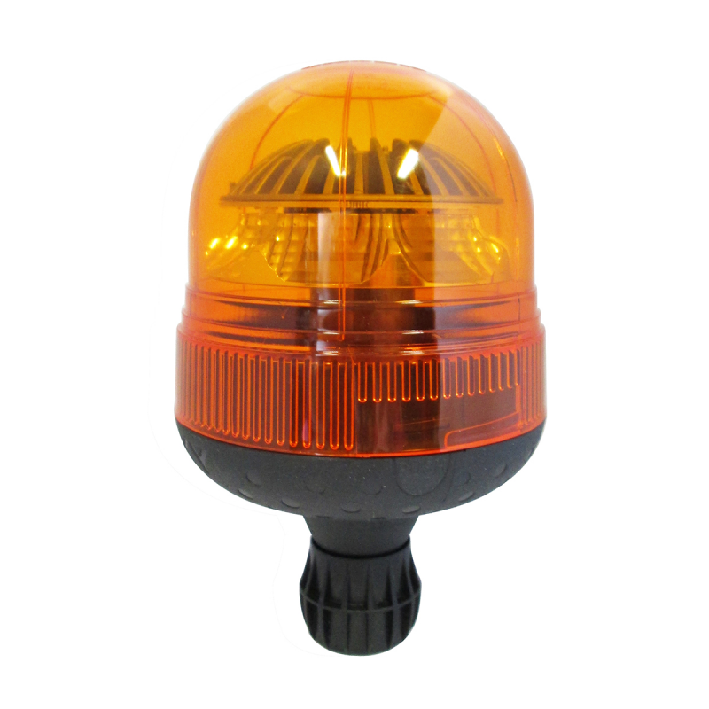 gyrophare led orange rotatif sur hampe flexible. Black Bedroom Furniture Sets. Home Design Ideas