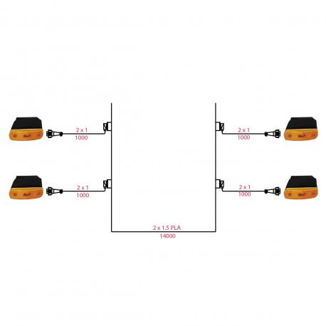 FAISC STD 14M+4SM 12V