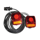 KIT AR REMOR MAGN LED CABLE 10M 12V