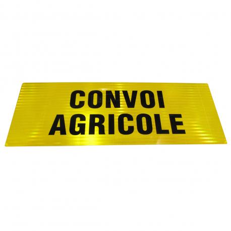 PANNEAU CONVOI AGRICOLE CLASSE B 1100x400x2mm - DOUBLE FACE
