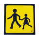 TRANSP ENFANTS ALU 400X400X1