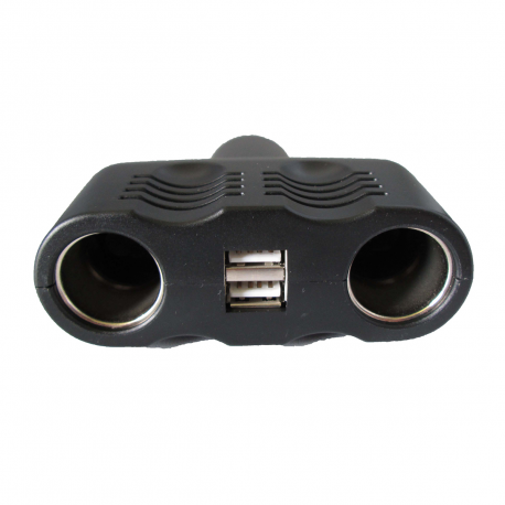 MULTIPRISE ALLUME CIGARE + USB