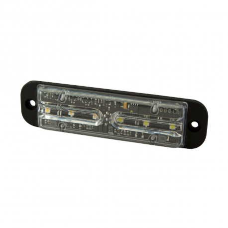 FEU FLASH 6 LEDS ORANGE