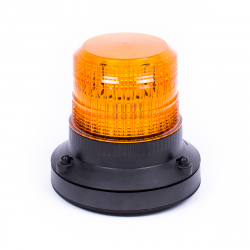 GYROPHARE LED ORANGE FIXATION 1 POINT