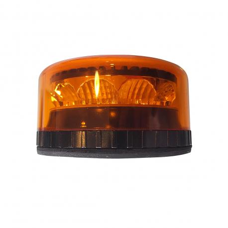 GYROPHARE LED ORANGE FLASHANT / ROTATIF ULTRA COMPACT
