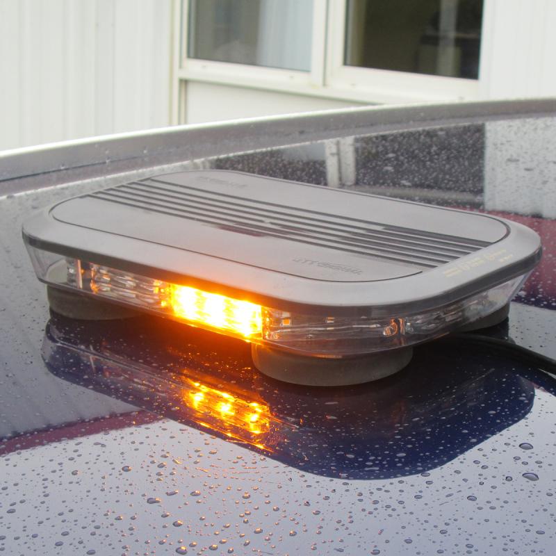 Mini rampe lumineuse led orange magn tique - Rampe lumineuse a led ...