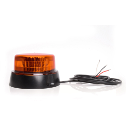 GYROPHARE LED ORANGE 12/24V 3 POINTS - ROTATIF -SYNCHRONISATION