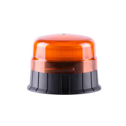 GYROPHARE LED ORANGE FLASHANT FIXATION 3 POINTS - 12/24V