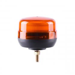 GYROPHARE LED ORANGE FLASHANT FIXATION 1 POINT - 12/24V