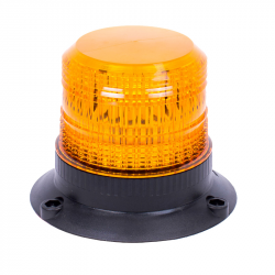 GYROPHARE LED ORANGE FIXATION 3 POINTS