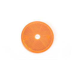 CATADIOPTRE ROND D60 ORANGE + TROU