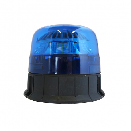 GYROPHARE LED BLEU FIXATION 3 POINTS - FLASHANT