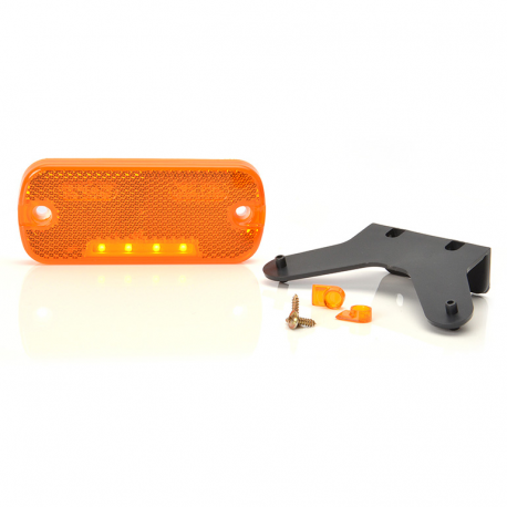 FEU SIDE-MAKER ORANGE LED À POSER 12/24V