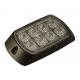 FEU FLASH ORANGE 8 LEDS R65 12/24V