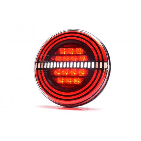 FEU LED ROND 3 FONCTIONS 12/24V