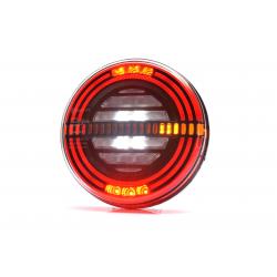FEU LED ROND GAUCHE - 5 FONCTIONS 12/24V