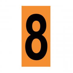 CHIFFRE EMBOUTI 8 142X80 MM