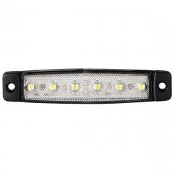 FEU DE POSITION AVANT BLANC 6 LEDS 24V