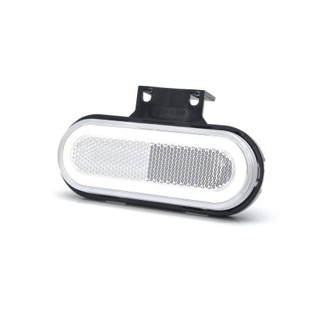 FEU DE POSITION AVANT LED BLANC 12/24V