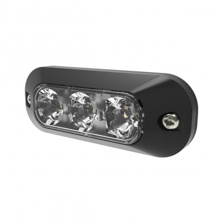 FEU FLASH ORANGE 3 LEDS 12/24 V