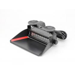 FEU FLASH POUR PARE-BRISE BLEU/ROUGE 9 LEDS - 10-33V