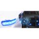 FEU FLASH FLEXIBLE ORANGE/BLEU 12 LEDS 12/24 V