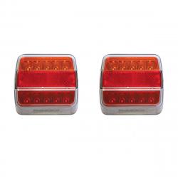 FEUX LED G/D 3 FONCTIONS 12/24V