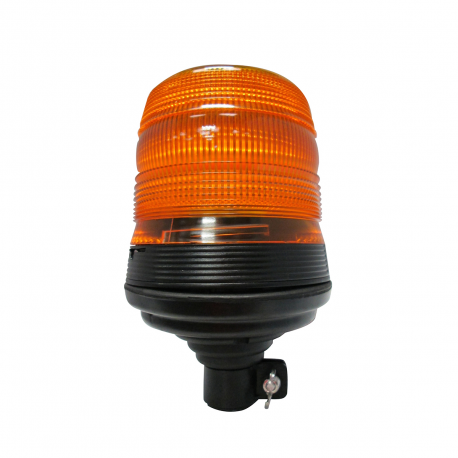 GYRO LED ORANGE 12/24 V SUR TIGE FLEXIBLE