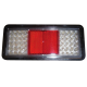 FEU LED ARRIÈRE G/D 3 FONCTIONS + TRIANGLE CATADIOPTRE 12/24 V
