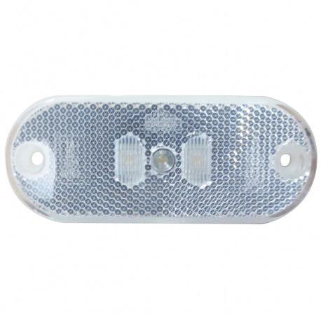 FEU LED DE POSITION BLANC 24 V