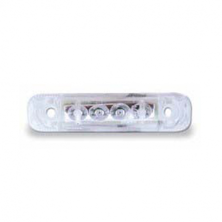 FEU LED DE POSITION AVANT BLANC 24 V