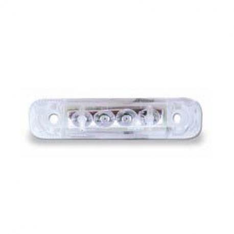 FEU LED DE POSITION AVANT BLANC 24 V
