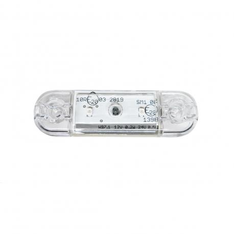 FEU SIDE-MAKER ORANGE LED 12/24 V