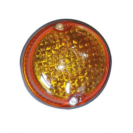 MINI FLASH LED ORANGE 12/24 V