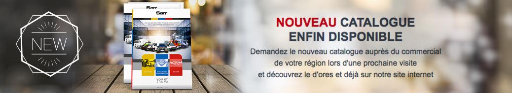 Nouveau catalogue SARR